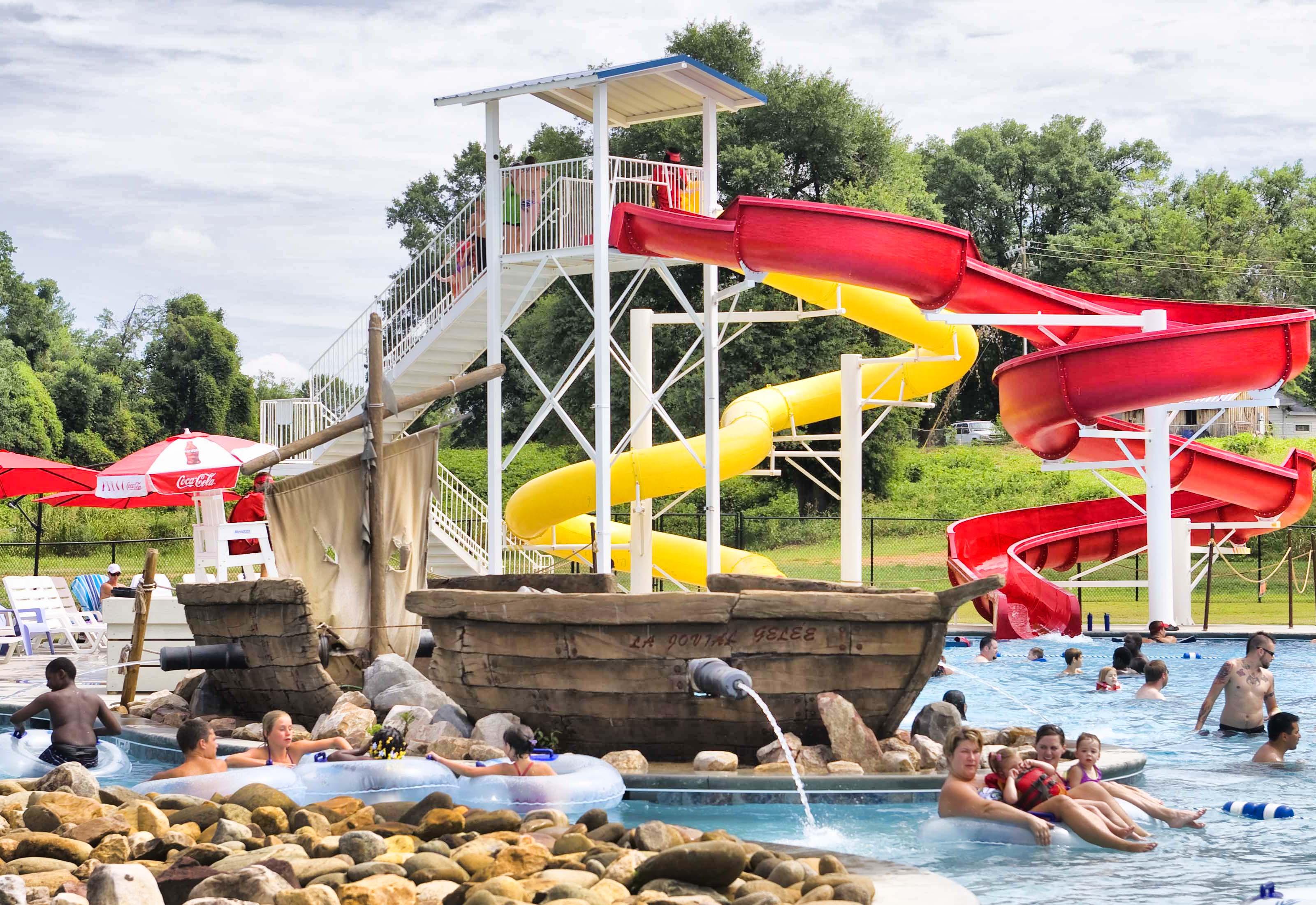 Shipwreck Cove, a summertime favorite locale in Duncan, SC.