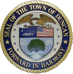 Town of Duncan, SC seal