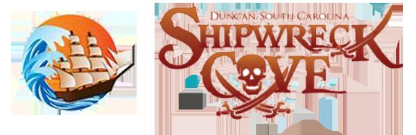 Shipwreck cove in Duncan SC